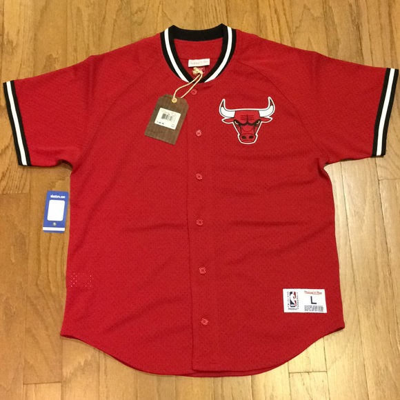 ... button front shirt black 99c36 daa6e  amazon mitchell ness chicago  bulls seasoned pro jersey e4164 35fa5 800bfb8b8